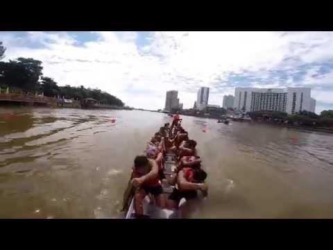 CANADIAN DRAGONS - Sarawak Regatta   Semi Finals   Open 22 Crew