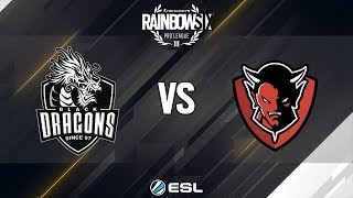 Rainbow Six Pro League - Season 9 - LATAM - Black Dragons vs. ReD DevilS e-Sports - Week 1