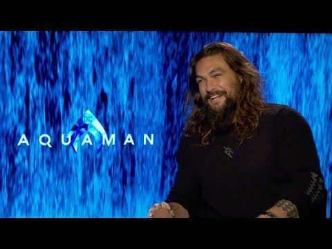 AQUAMAN Cast Interviews: Jason Momoa, Amber Heard, Patrick Wilson, James Wan