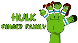 Hulk Finger Family | Finger Family Collection | Finger Family Songs for Children