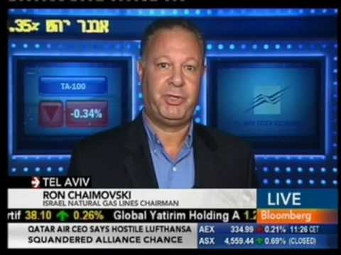 Ron Chaimovski On Bloomberg TV - 18.10.2012
