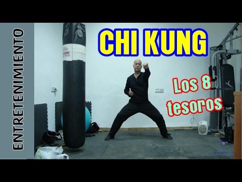 Chi Kung (Qi gong). Las 8 piezas del brocado