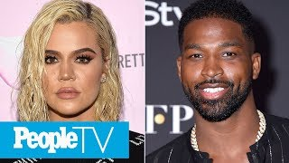 Khloé Kardashian Says Tristan Thompson Tried To Kiss Her On True's Birthday | PeopleTV