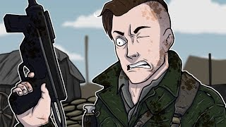 Call of Duty WWII Multiplayer Funny Moments! - 1v1's, 6 Man Feed, Callouts