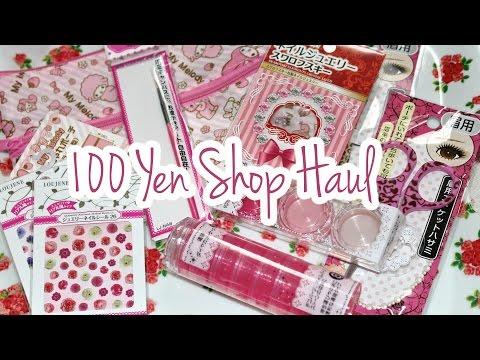 Haul 2014: Nail Art & More | 100 Yen Shop Japan ♡