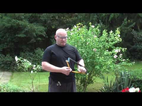 Vertical Slingshot shoots like a bow!