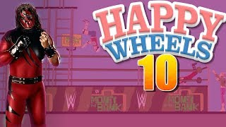 HAPPY WHEELS | I THINK I HAD TO MUCH FUN IN THE WRESTLING RING TODAY