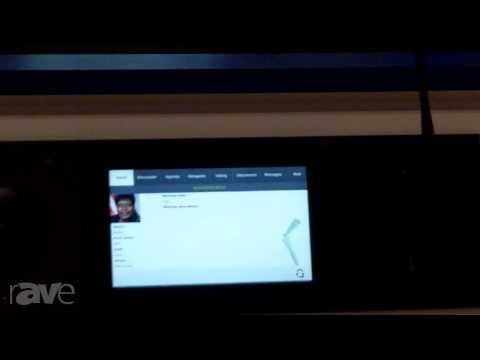 InfoComm 2013: Listen Exhibits Multitouch Conferencing System