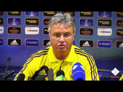Pre-Match Press conference  FC Anzhi, Guus Hiddink
