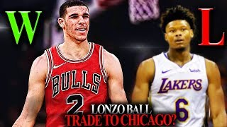 The Lonzo Ball TRADE to Chicago Bulls Does NOT HAPPEN Unless...