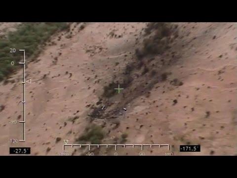 Mali: premières images des débris de l'avion d'Air Algérie
