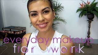 GRWM ♥ Everyday Makeup for Work | beautyzombiee