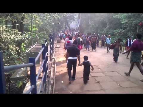 Sabarimala Journey From Pamba To Sabarimala - Sabarimala Yatra video