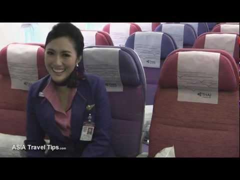 Thai Airways Int. NEW Boeing 777-300ER Tour - HD