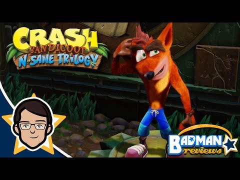 Crash Bandicoot N. Sane Trilogy Review - badman