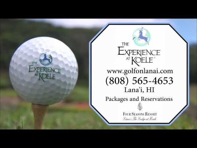 The Experience at Koele - Island of Lanai Golf