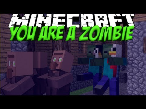 Zombie Mod: Minecraft You Are A Zombie Mod Showcase!