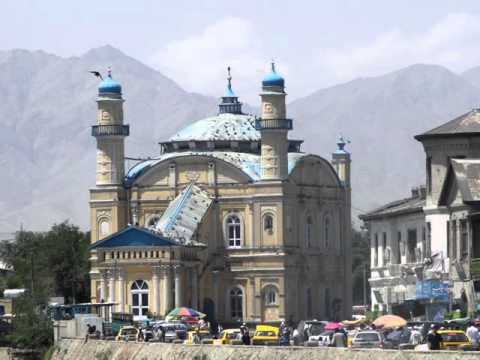 Kabul ,city in Afghanistan, beautiful buildings, before the 7.5 earthquake hit .