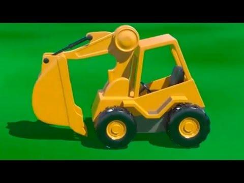Çizgi film – İş Makineleri – Kepçe
