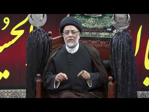 6th Night Of Muharram - Syed Mohammed Naqvi - 6th Muharram 1438