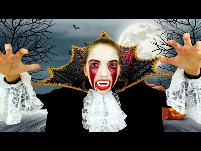 Готовимся к Хеллоуину с #МонстерХай и куклой #Барби! Делаем страшный макияж. Видео для девочек