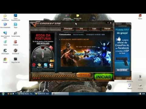 Como Baixar , Instalar e Usar o Hack ONE Hit No Crossfire AL ! 2013
