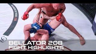 Bellator 208 Fight Highlights: Fedor Returns to Form, TKOs Chael Sonnen