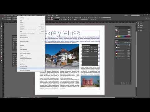 Kurs InDesign - Dodawanie I Formatowanie Tekstów, Oblewanie Tekstem | Videopoint.pl