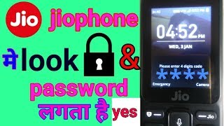 How to Activate screen lock in Jio  phone !!Jio 4G phone Auto keypad lock enable solution