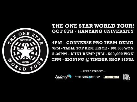 Converse Cons One Star World Tour 2015 Seoul