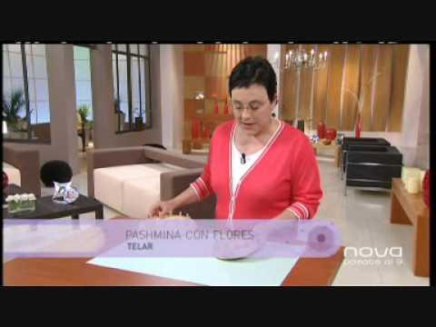 Utilísima Bien Simple, Pashmina de lana, Marian San Martín