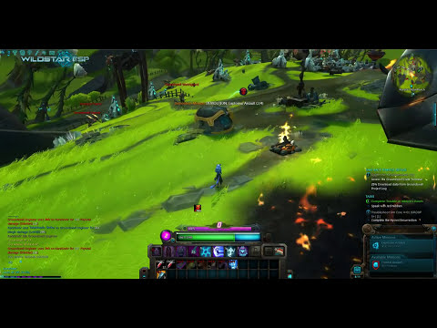 WildStar beta: Demolition: Explosive Assault soldier path quest. Level 16 Esper.