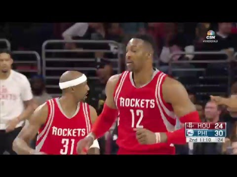 Houston Rockets vs Philadelphia 76ers - March 9, 2016