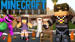 ROSS' NIGHTMARE FUEL! | Minecraft Mini-Game PROP HUNT! /w Facecam
