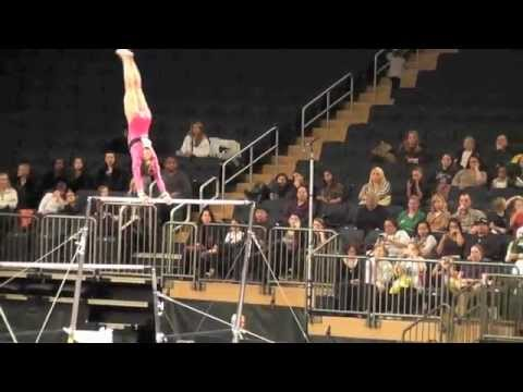 Sydney McGlone-Level 10 UGI Gymnast, Nastia Cup-Bar Routine