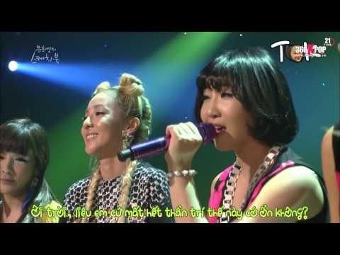 Vietsub] YHY's Sketchbook 2NE1   Falling In Love(Acoustic Version) {21 Team}