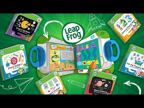 LEAP INTO LEARNING WITH LEAPFROG'S LEAPSTART! | A Toy Insider Play by Play