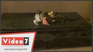 شاهد مقبرة الفنان التشكيلى محمود مختار صاحب تمثال نهضة مصر