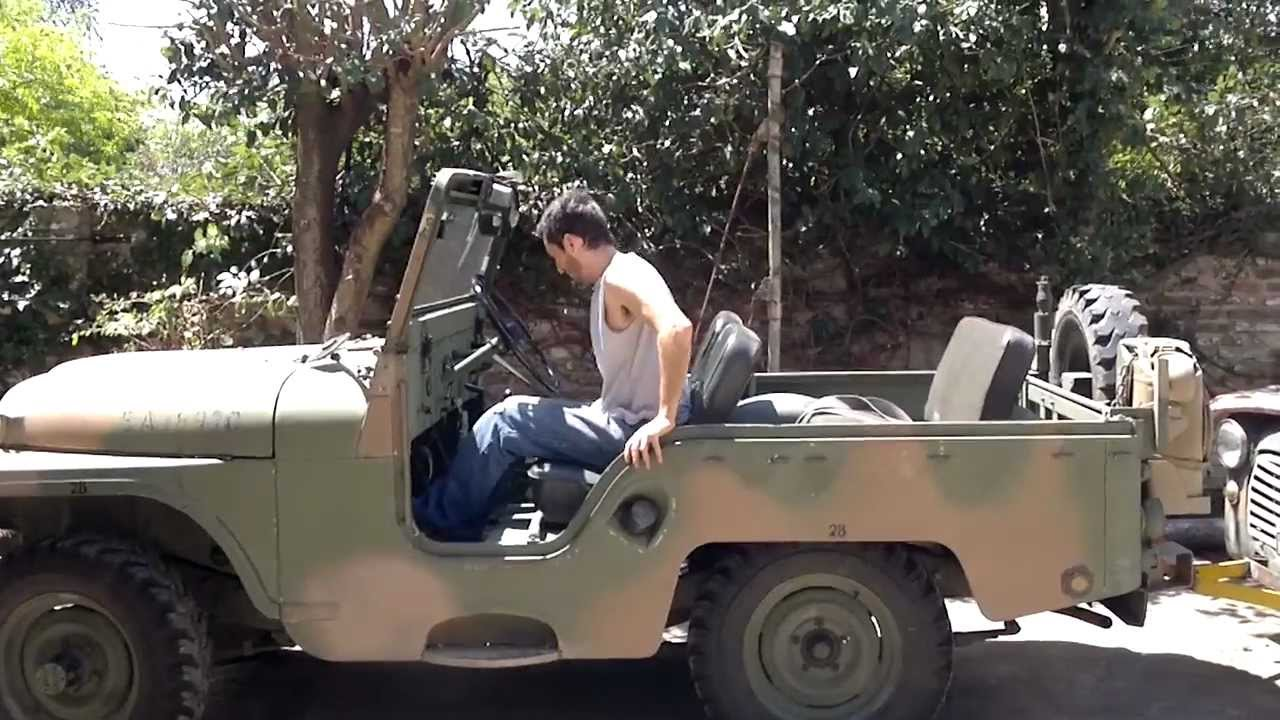 Jeep Ika 4x4 Arrastrando Como Grua A Camioneta Hillman