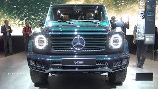 (8.54 MB) 2019 Mercedes Benz G-Class - Exterior And Interior Walkaround - 2018 Detroit Auto Show Mp3