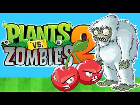 Plants vs. Zombies 2 Bombando o Yeti