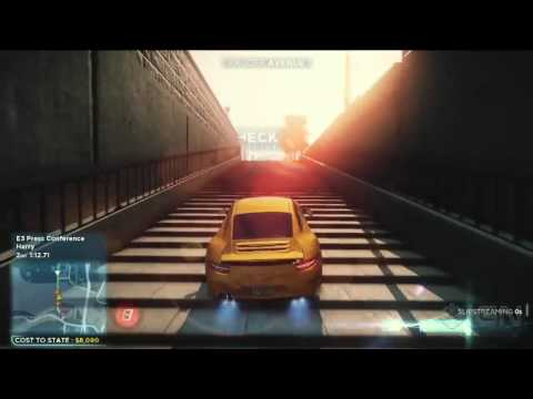 Need for Speed Most Wanted Gameplay Demo - EA E3 2012 Press Conference
