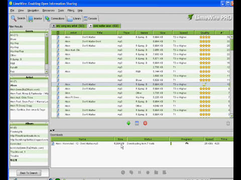 how to download limewire and download songs from it