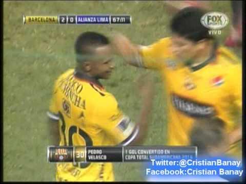 Barcelona de Guayaquil 3 Alianza Lima 0 (Radio Diblu 88.9) Copa Sudamericana 2014 Los goles