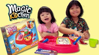 Magic Kidchen Ice Cream Maker by Good Baby Hannah and her Friend Dee!