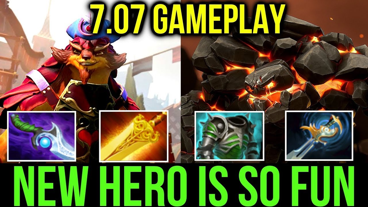 Imba Pangolier & Tiny New Skill! Dota2 7.07 Gameplay by Swiftending & Beesa