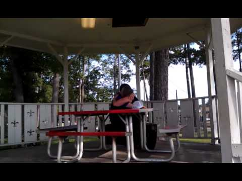 Old Couple Making Out Iin The Park.3gp video