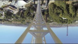 Full Throttle Roller Coaster REAL POV Six Flags Magic Mountain SFMM 2013