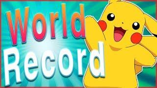 13 Awesome World Records Set by Pokémon!