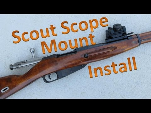 Mosin Nagant Scope Base Install Scout Style